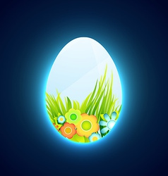 Easter banner design vector