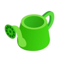 Watering can isometric 3d icon vector