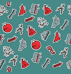 Geometry concept icons pattern vector