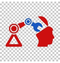 Open head surgery manipulator icon vector