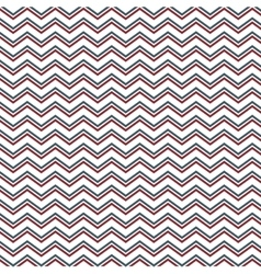 Pattern with lines in zig zag vector