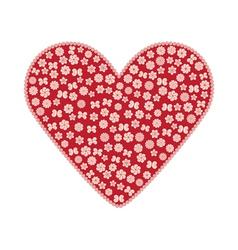 Red valentine vector