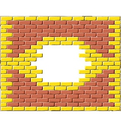 Brick frame vector