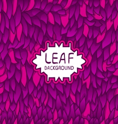 Leaf background - 2 vector