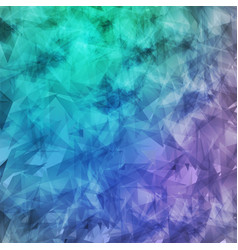 Abstract geometric grunge background chaotic vector