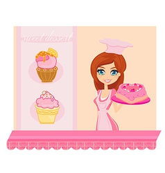Bakery store vector