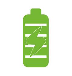 Battery energy symbol vector