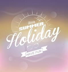 summer escape 2 vector image