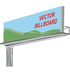 Billboard template vector