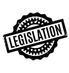 legislation rubber stamp vector image vector image