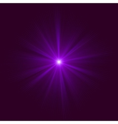 Purple abstract explosion EPS 10 vector image vector image