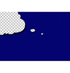 retro cartoon pop art comic sign speech cloud vector image vector image