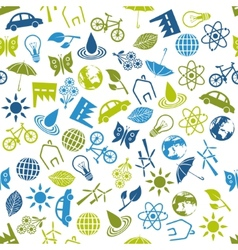 Environment seamless pattern vector