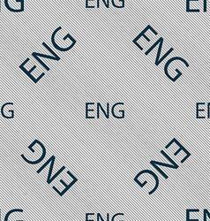 English sign icon great britain symbol seamless vector