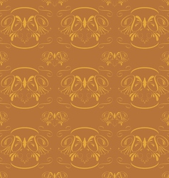seamless classical ornament vector image