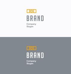 Brand logo 01 vector image