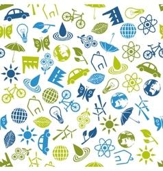 Environment seamless pattern vector