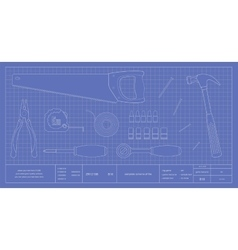 Blueprint instruments vector