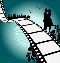 film illustration vector image vector image