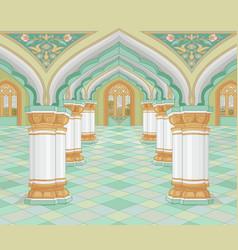 Arabic palace vector
