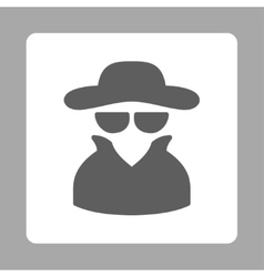 Spy icon vector