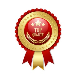 Top quality rosette vector image