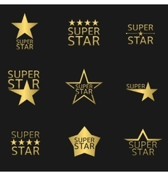 Super star vector