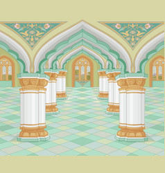 Arabic palace vector