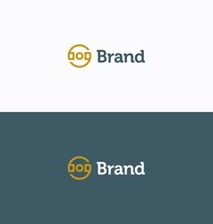 Brand logo 02 vector image
