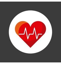 Cardiology icon design vector