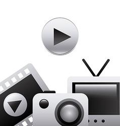 gadgets icon vector image