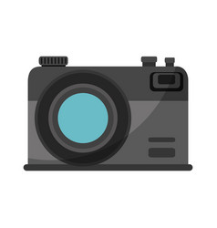 isolated vintage camera vector image