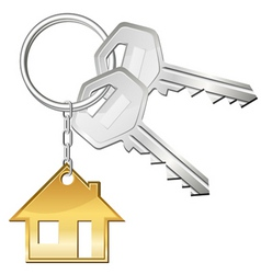 keys for home vector image vector image