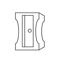 sharpener utensil icon vector image
