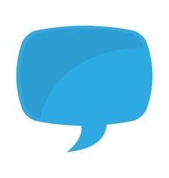 speech bubble color message icon vector image