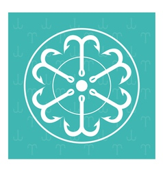 Symbols from anchor vector image vector image