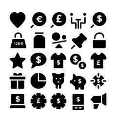 Trade icons 5 vector