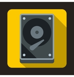 Hdd icon icon flat style vector