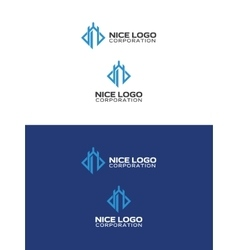 Castle tower logo vector