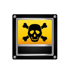 danger and warning sign vector image vector image