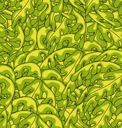 Plant Seamless Pattern vector image