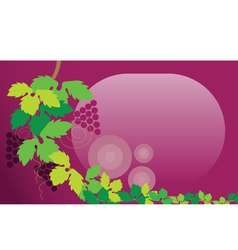 Grape leaf vector