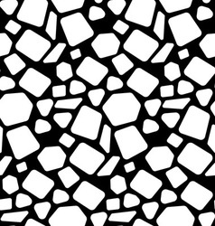 Abstract geometric shapes with smooth corners vector