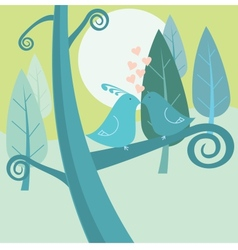 nature birds vector image