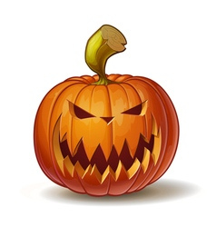 Pumpkins Scary 2 vector image