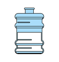 Water gallon vector