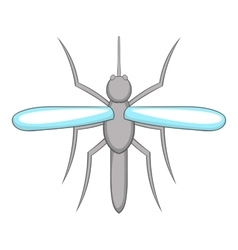 Mosquito icon cartoon style vector image