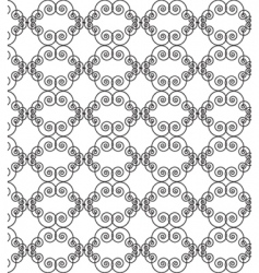 filigree motif vector image