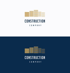 Construction logo 01 vector