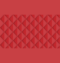 abstract red isometric background vector image vector image